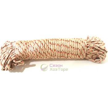 Шнур 2хцветный полиамидный с сердечником 6мм/30м (SD4-13)