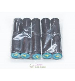 Нить капроновая обувная 375 текс, черная (упаковка 10 катушек)